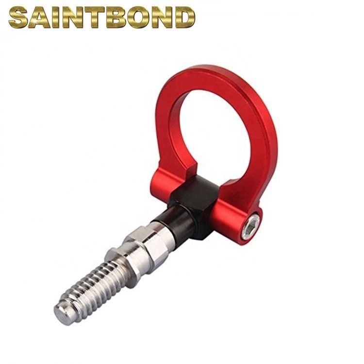 Anti-collision hook traction ring towing truck hook trailer tow hook