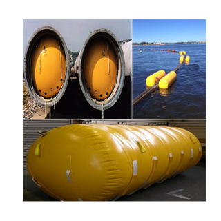 Marine salvage lift Ship launch balloon Launching Air Bag Boat Floatation Airbag Flotation Bags