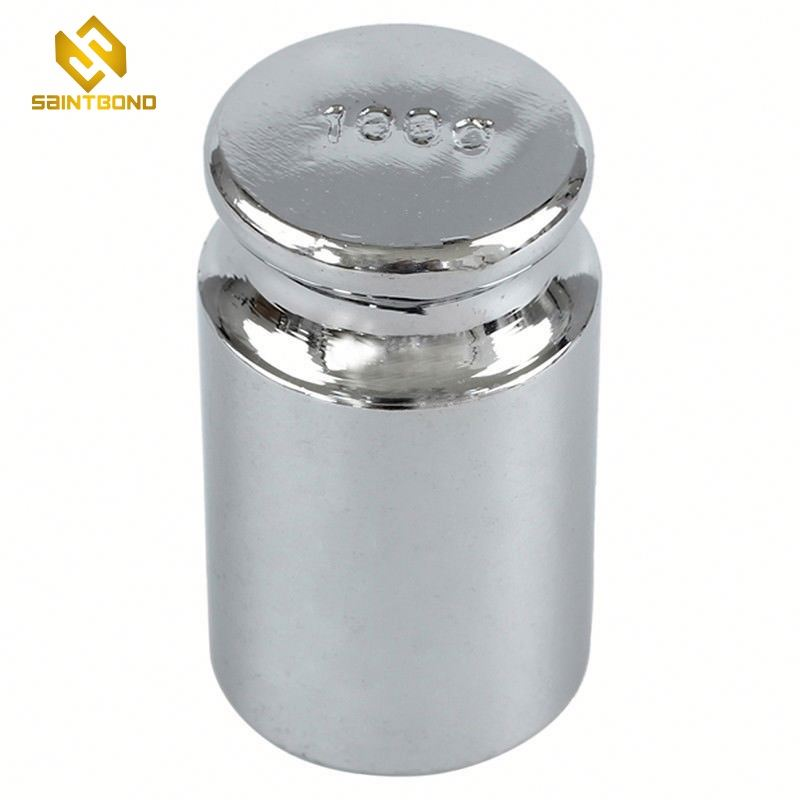 TWS01 custom High quality Standard 100g chrome-plated steel calibration weight box set for pocket scale