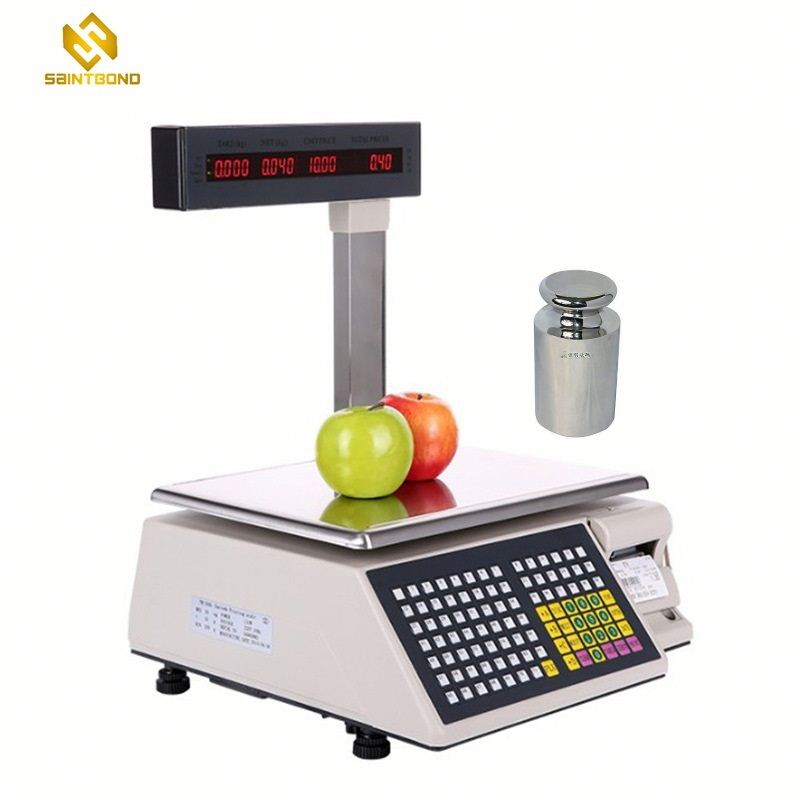 TM-AB supermarket weighing scale with barcode printer scale