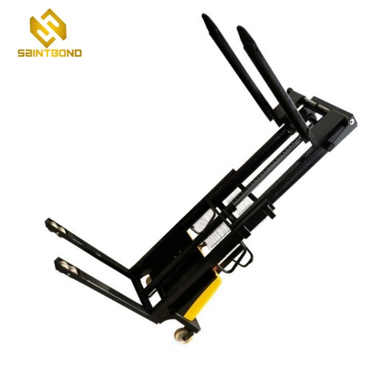 DYC small pallet stacker semi electric pallet forklift with battery