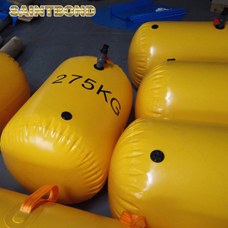 Custom marine pipeline lifting PVC Rescue Basket Stretcher for lifeboat Testing Water Bag Gangway load test