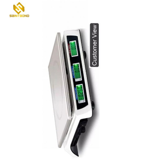AS809 Digital Price Computing Scale With Led/Lcd Display Digital Balance Scale 40kg 5g