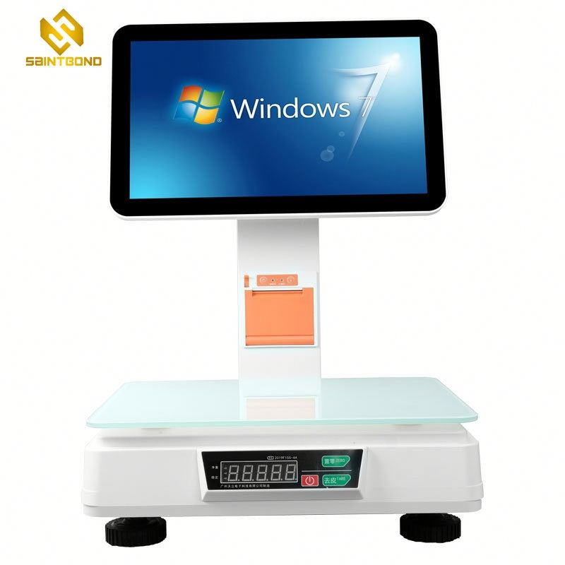 PCC02 All in One POS Tablet System Stand with Printer for iPad Android W7 Tablet POS