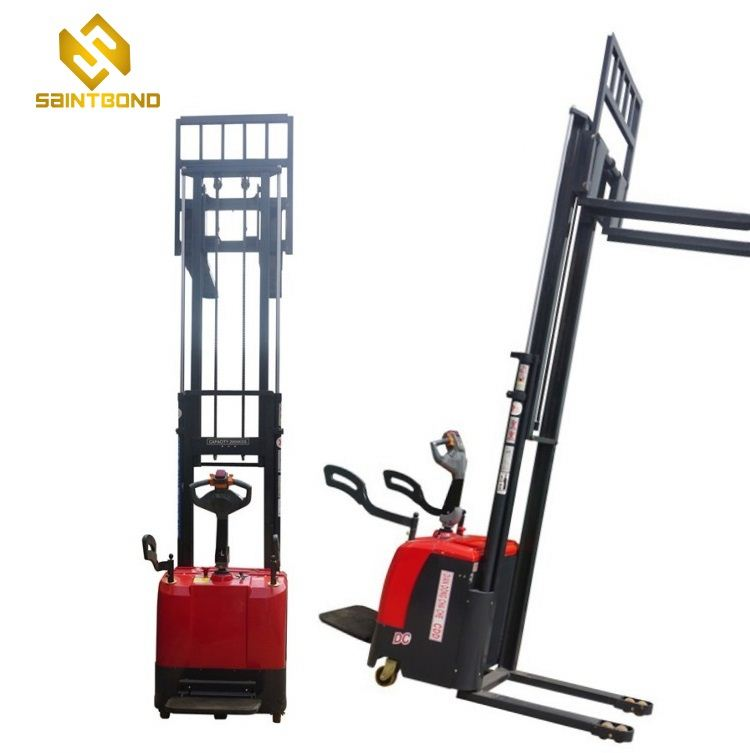 PSES11 Small manual and electric powered stacker 1 ton 1.5 ton from direct factory