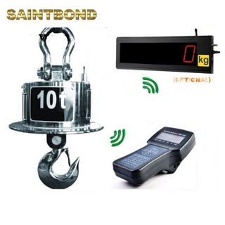 With crane balance digital hanging scale wireless