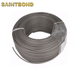 Manufacture high quality gray electric 4 wire flexible pvc cable