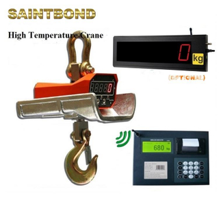 Anti-heat 10000kg resisting weighing type g3 scale heat proof indicators insulated digital crane scales ocs heavy duty cast iron