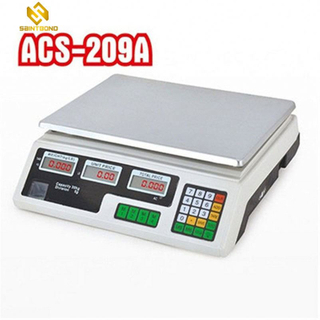 ACS209 30kg High Quality Fruit Vegetable Digital Weigh Scale Computing Electronic Pricing Scale