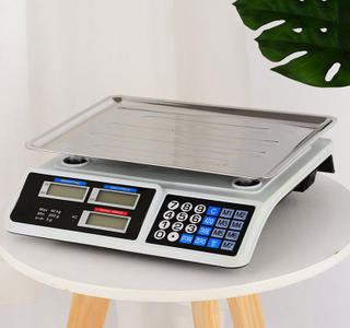 AS809 40kg Commercial Scale Digital Price Computing Scale With Led / Lcd Display For Retail Use