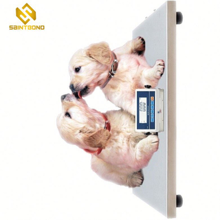 200KG 440lb Industrial Digital Postal Scale,Heavy Duty Stainless Steel Large Platform for Floor Bench Office Weight