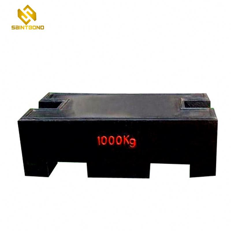 TWC02 20kg 500kg 1000kg Standard Cast Iron Crane Counter Test Weights for Calibration