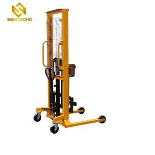 PSDT04 Reddot 400kg Capacity Hydraulic Manual Hand Oil Drum Lifter Stacker