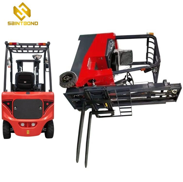 CPD CE approved mini small electric forklift powered by battery 1ton 1.5 ton