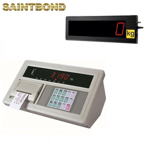 Industrial Weight scale printer Intelligent intelligent weighing indicator with LED display