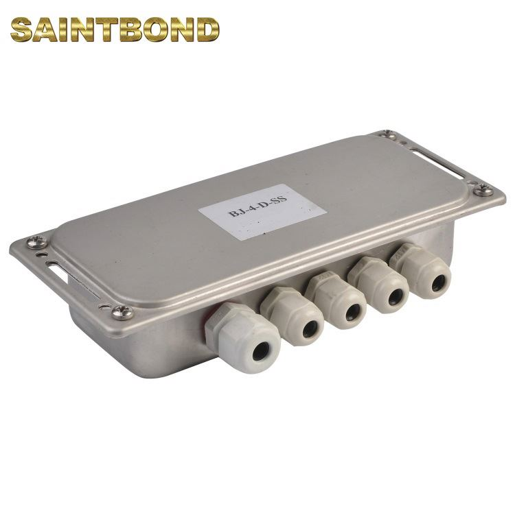 4-Channel 4-wire Load Cell Summing digital for floor scale Stainless Steel Weighing Junction Box