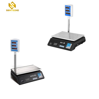 ACS30 Series Electronic Price Computing Retail Scale Digital Weighing Scale With Printer Electronic Balance00