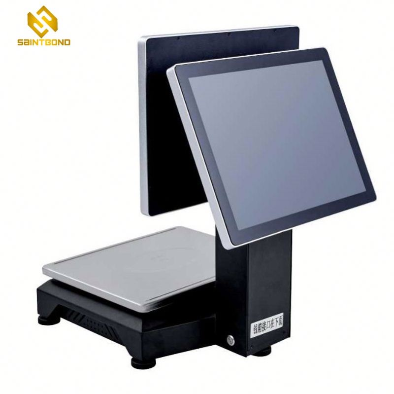 PCC01 15 inch tire flat capacity touch pos machine with second display
