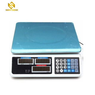 AS809 30kg Digital Weighing Scale With Lcd Display Cheaper Electronic Price Platform Weighing Computing Scale