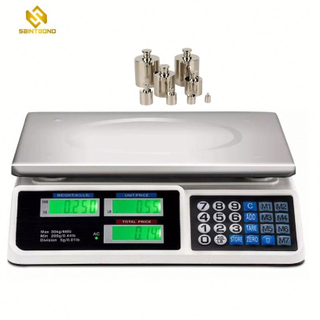 ACS809 2g/5g Accuracy And 40kg/35kg/30kg Rated Load Electronic Price Scale
