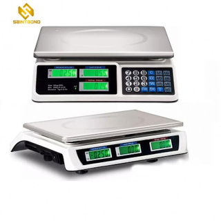 AS809 40kg Digital Price Computing Scale Led And Lcd Electronic Weighing Scale Commercial Price Scale