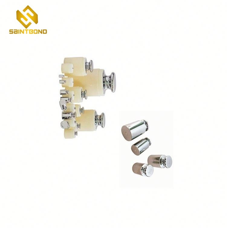 TWS01 8 Pieces 1000 Gram Calibration Weight Set (500g 200g 2x100g 50g 20g 20g 10g) with Case and Tweezers for Digital