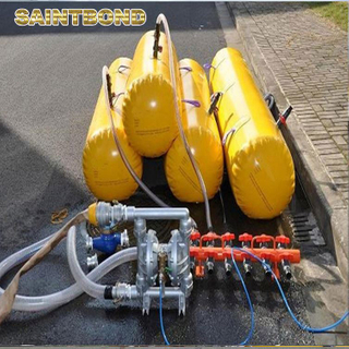 Fire protected launching appliance davit 12Persons life boat testing bag fall preventer device for lifeboat