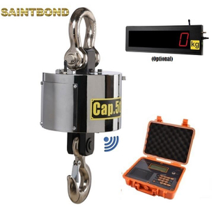Ocs-xp 10ton 50kg-50t digital wireless hanging 20 ton Rs232 Wifi 10t load cell ocs 5t electronic crane scale model