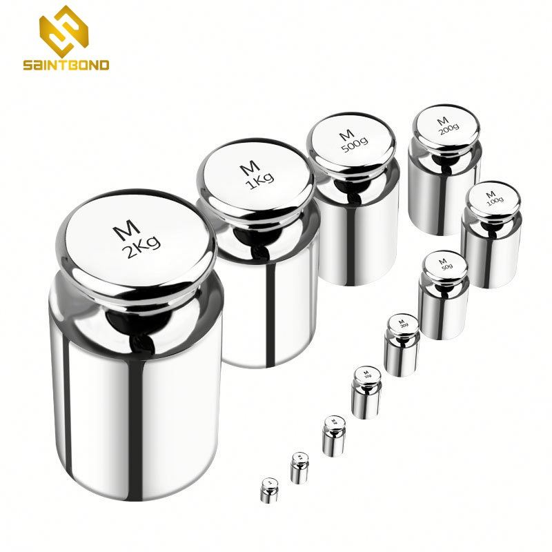 TWS01 500g standard weights for calibration Weighing equipment steel chrome plated gram balance calibration weight for wholesale